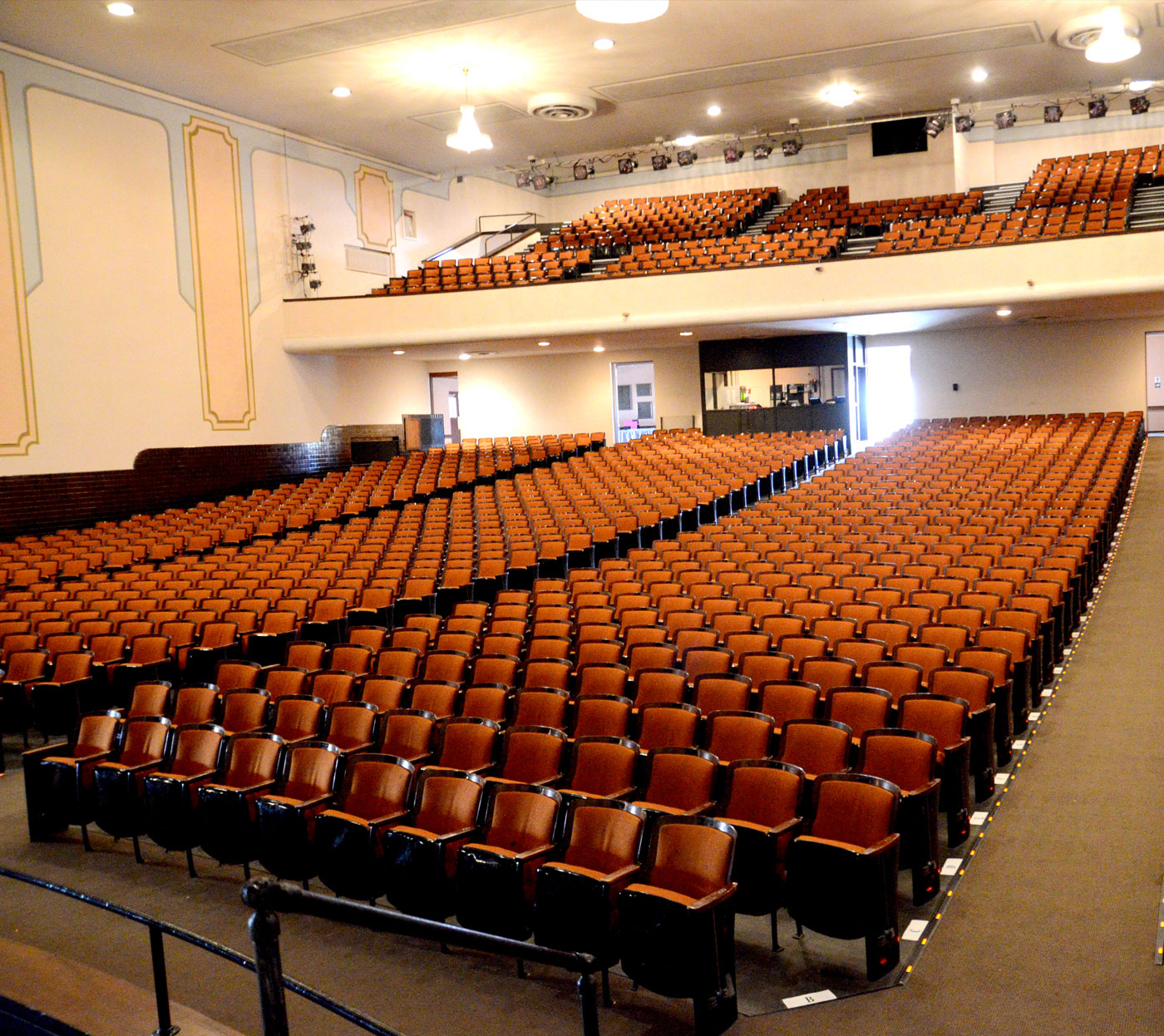 Volunteer-At-Secrest-Auditorium