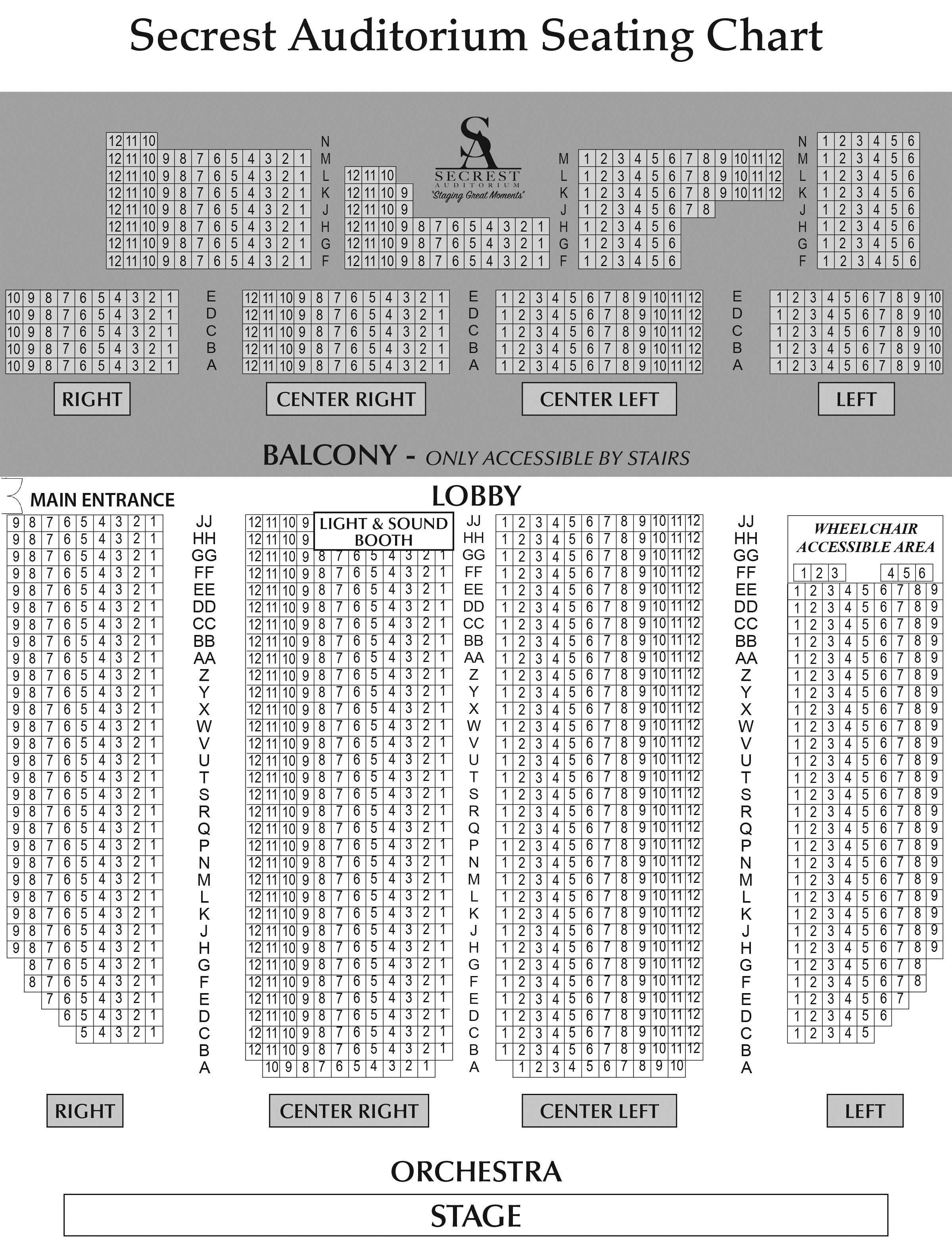 Secrest-Auditorium-Seating-Chart