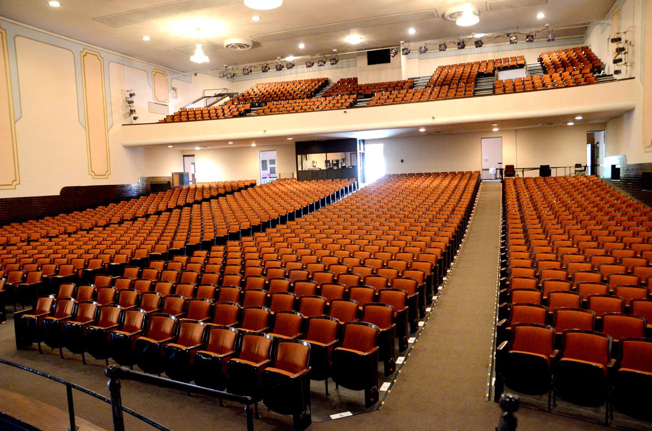 Secrest Auditorium Zanesville Ohio 16