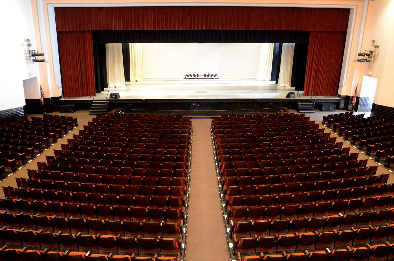 Secrest Auditorium Zanesville Ohio 23
