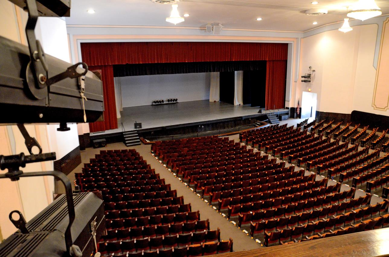 Secrest Auditorium Zanesville Ohio 30