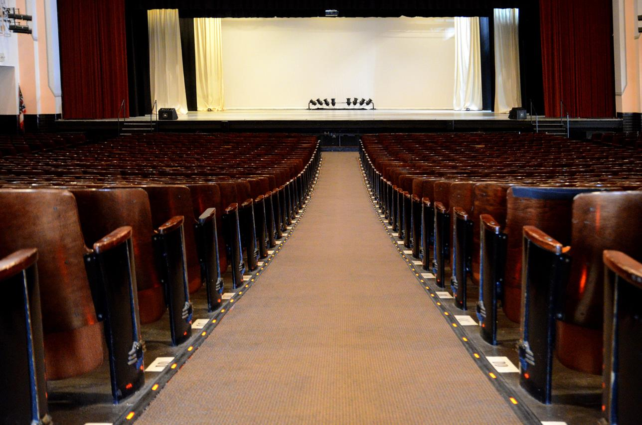 Secrest Auditorium Zanesville Ohio 7