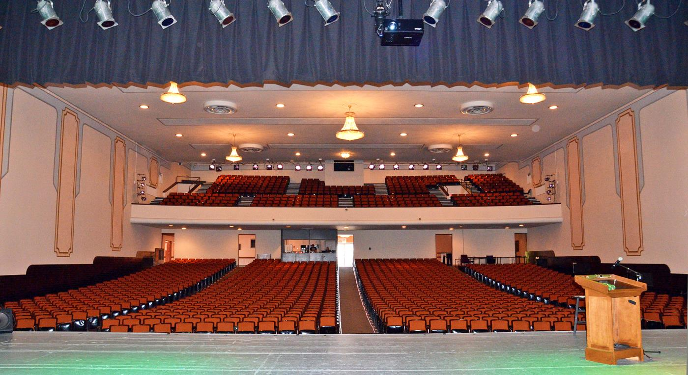 Secrest Auditorium Zanesville Ohio 9